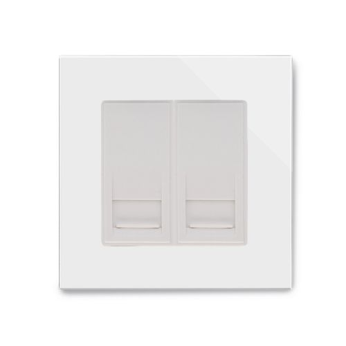 RetroTouch BT Master/BT Slave Socket White Glass PG 04417